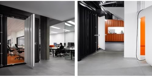 Oficina hecha con contenedores de carga www for Contenedores de oficina